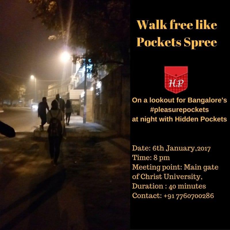 Discovering #PleasurePockets in Bangalore: Walk free like Pockets spree