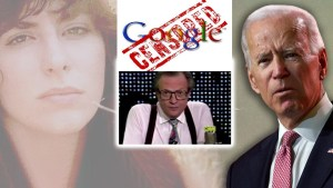Google/CNN stealthily DELETES Episode Where Tara Reade's Mom Calls into Larry King  Live