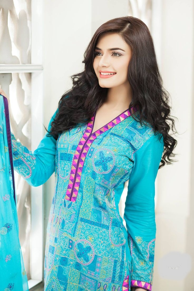Pakistani actress Kiran Haq