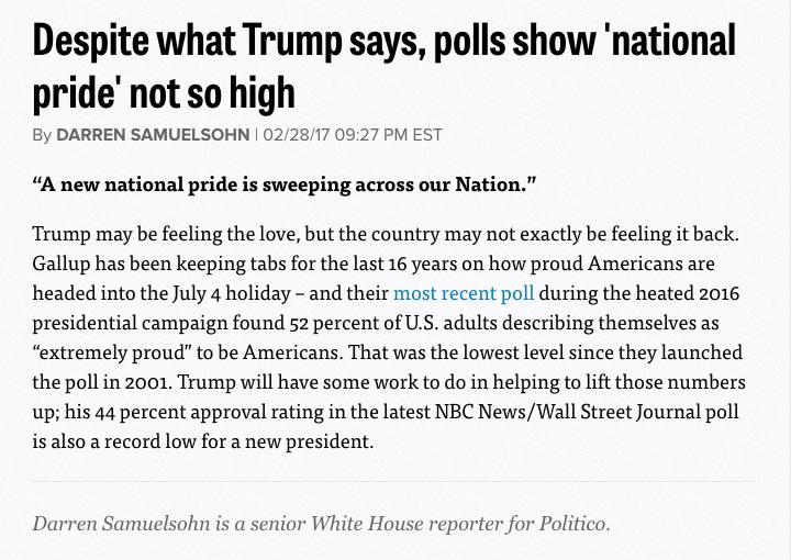 Politico Fact Check Rebuttal