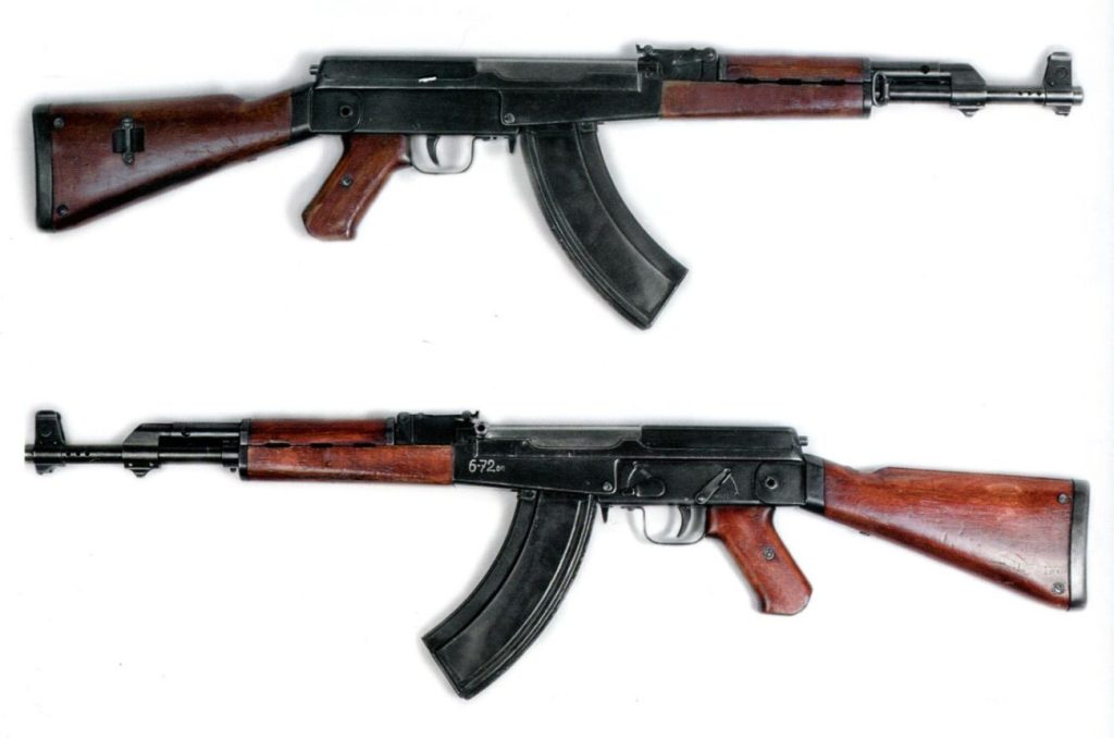 Differences between Ak-47