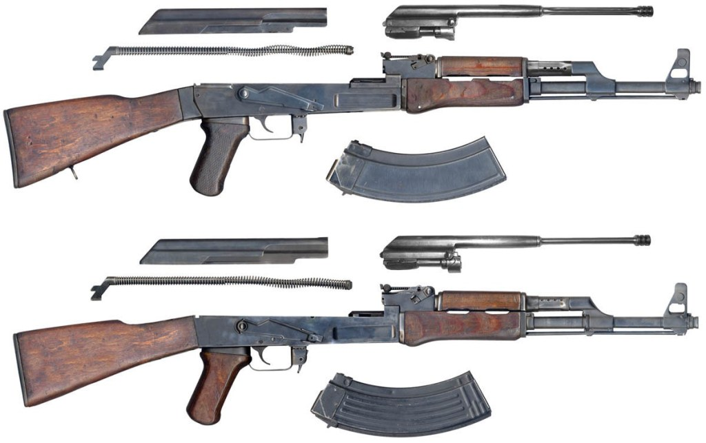Differences between AK-47, AKM, AK74