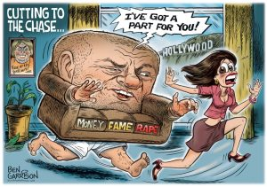 hollywood sexual scandals by ben garrison