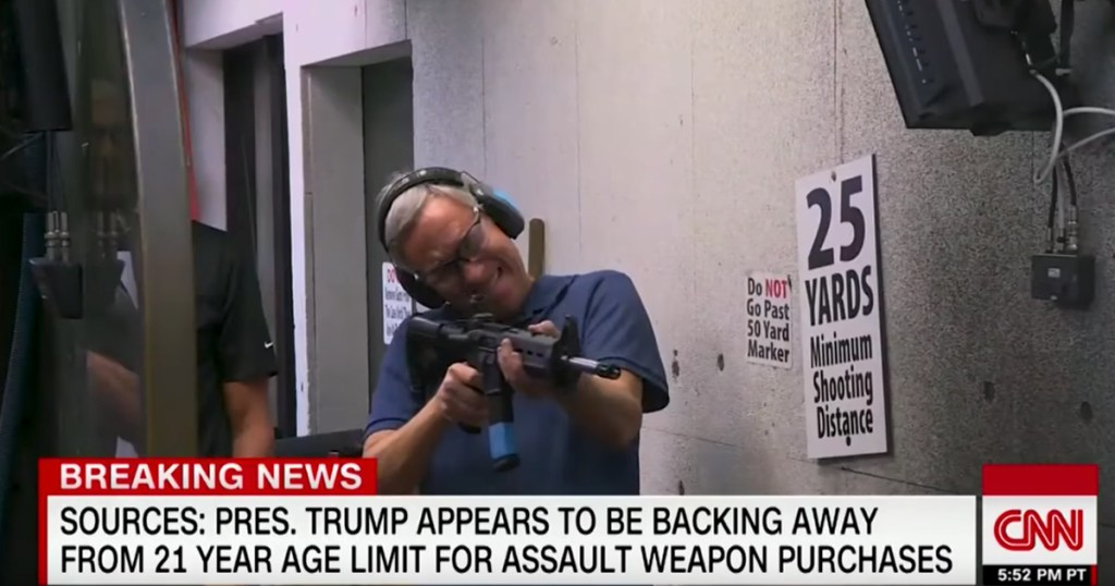 cnn scared shooting ar 15