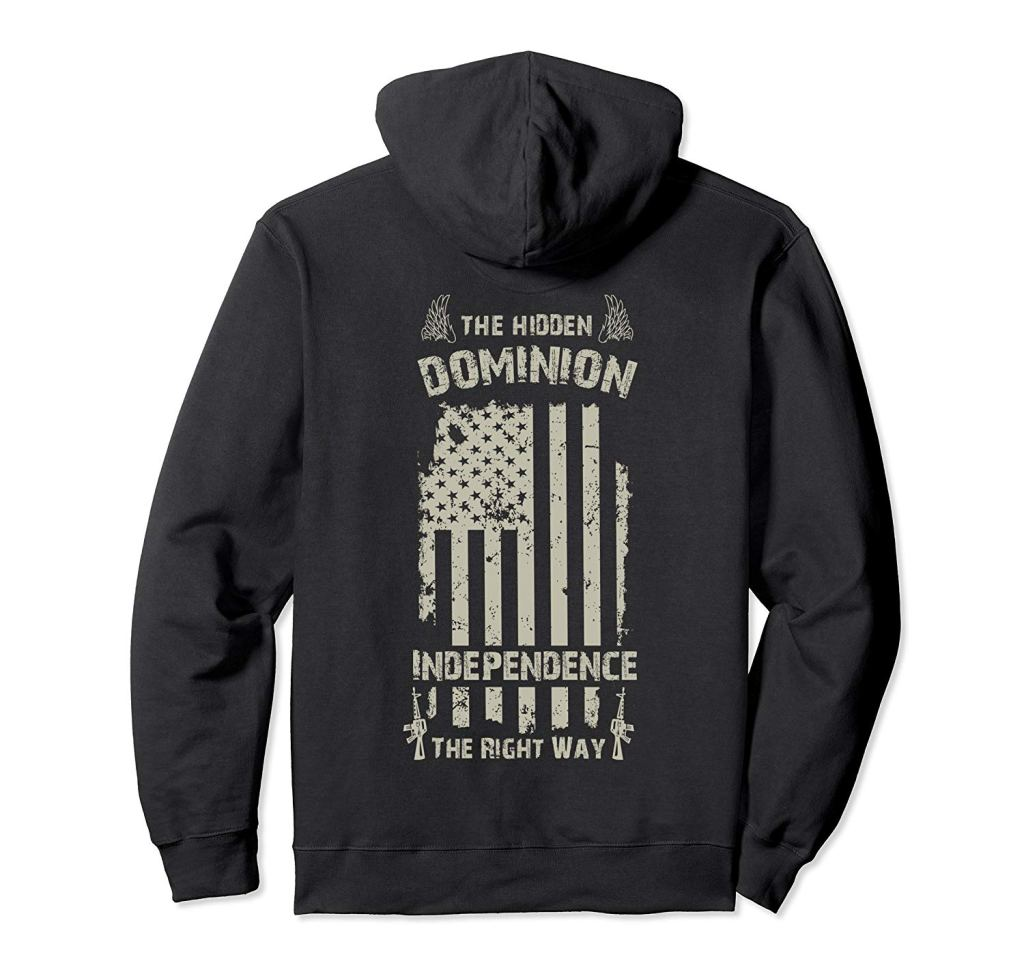 the hidden dominion apparel merch