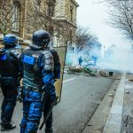 cops protest in paris march of anger