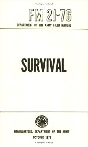 top 3 best survival books - US army survival manual