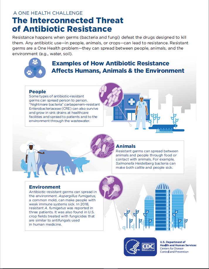 antibiotic resistance bioterror risks