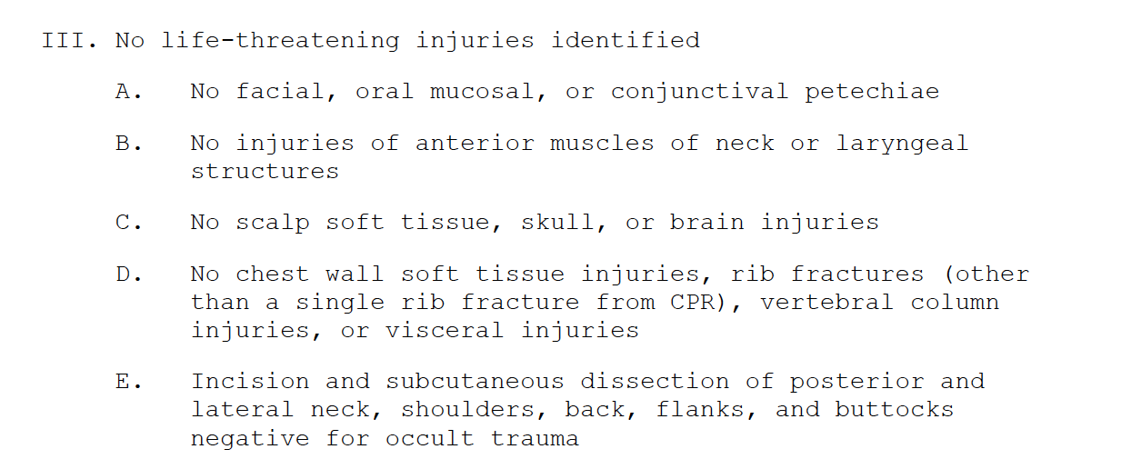 george floyd autopsy official report