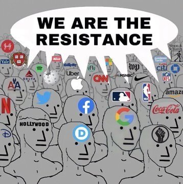 we are the resistance meme