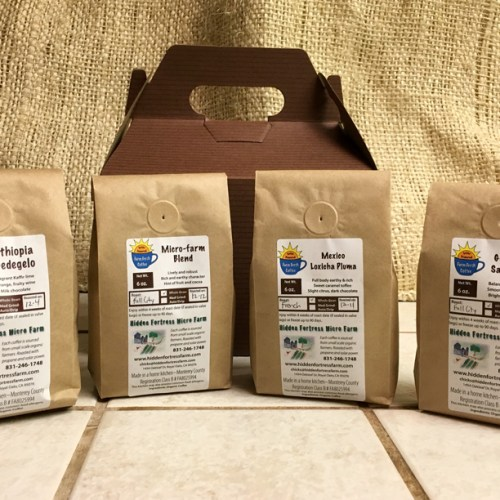 Hidden Fortress Coffee Sampler