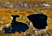 lakes by Mount Kailash