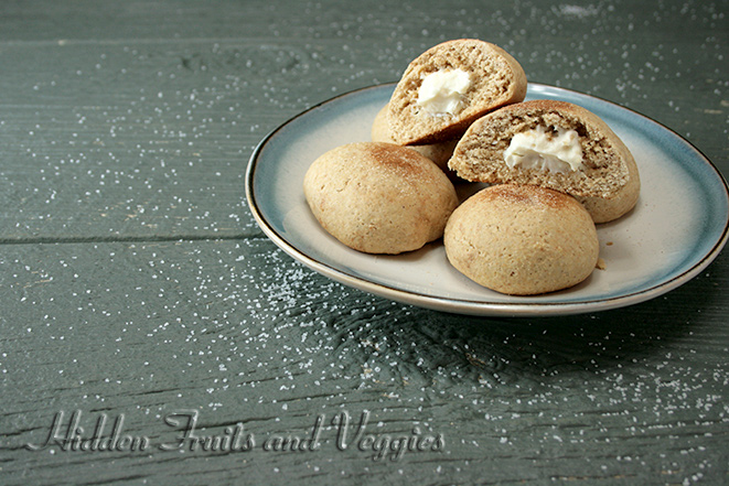Cream Cheese Stuffed Cinnamon Sugar Cookies