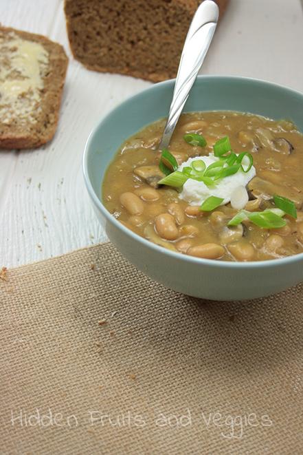 White Bean And Mushroom Chili