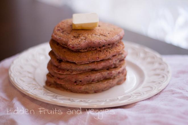 Raspberry Chia Seed Pancakes