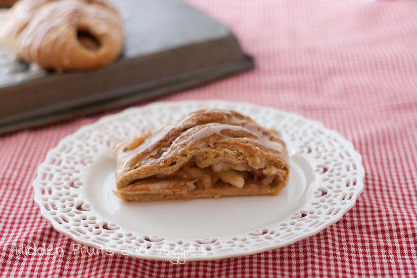 Whole Wheat Apple Braid