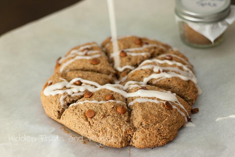 Gingerbread Spice Scones