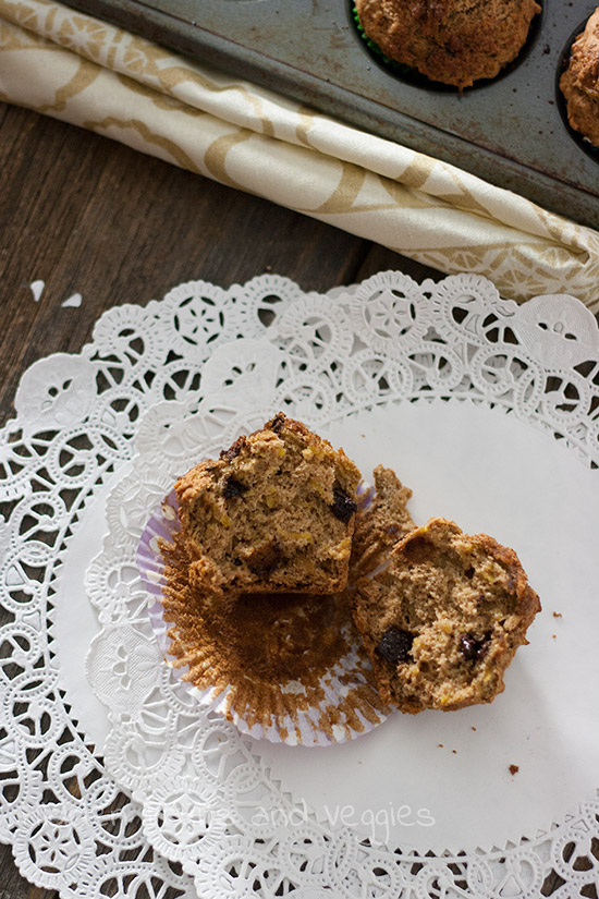 Grated Squash Muffins @hiddenfruitnveg