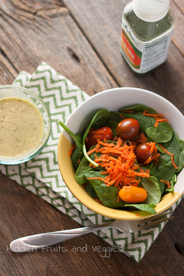 Green Vinaigrette @hiddenfruitnveg