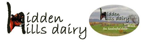 Hidden Hills Dairy Logo and Label
