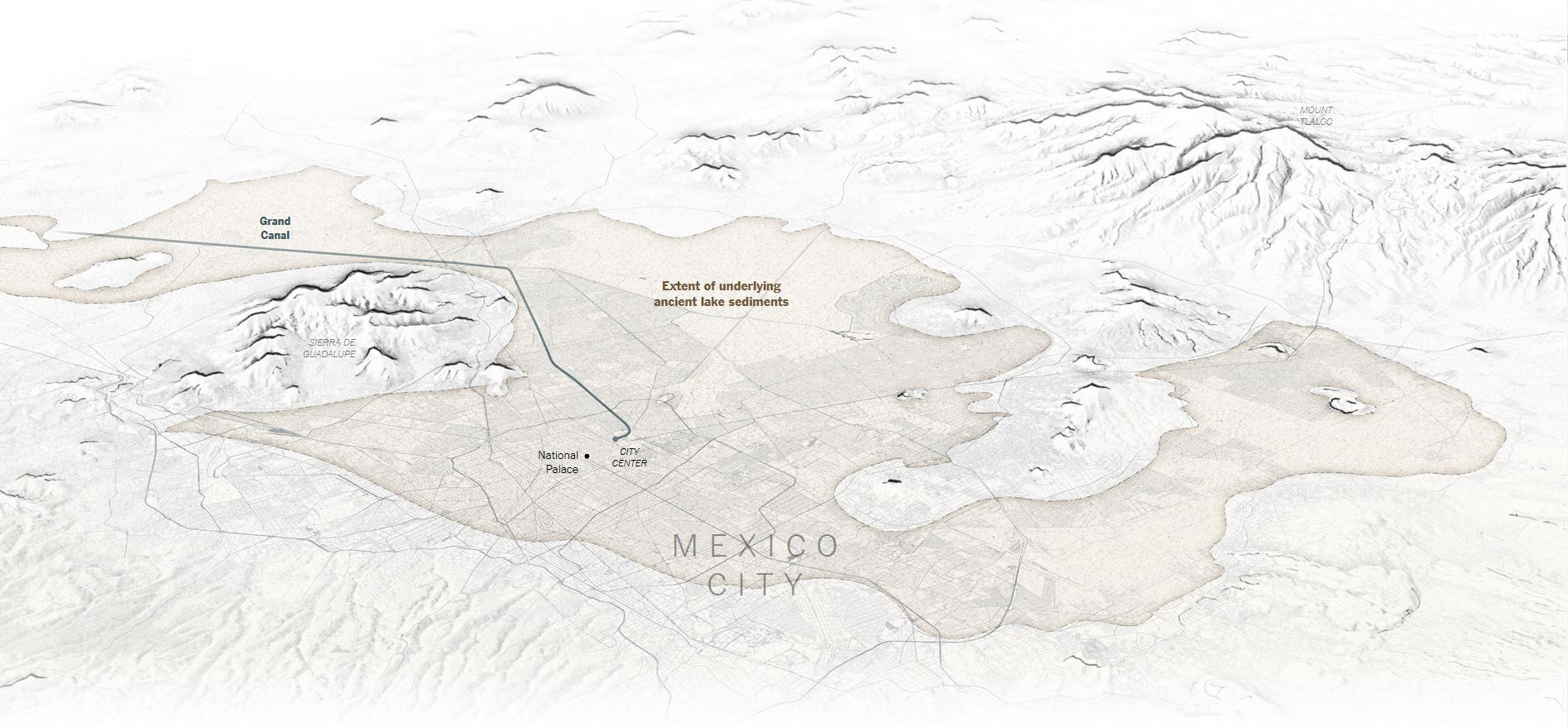 Mexico City Climate Hydrology And Invisible Rivers Hidden - Mexico climate map