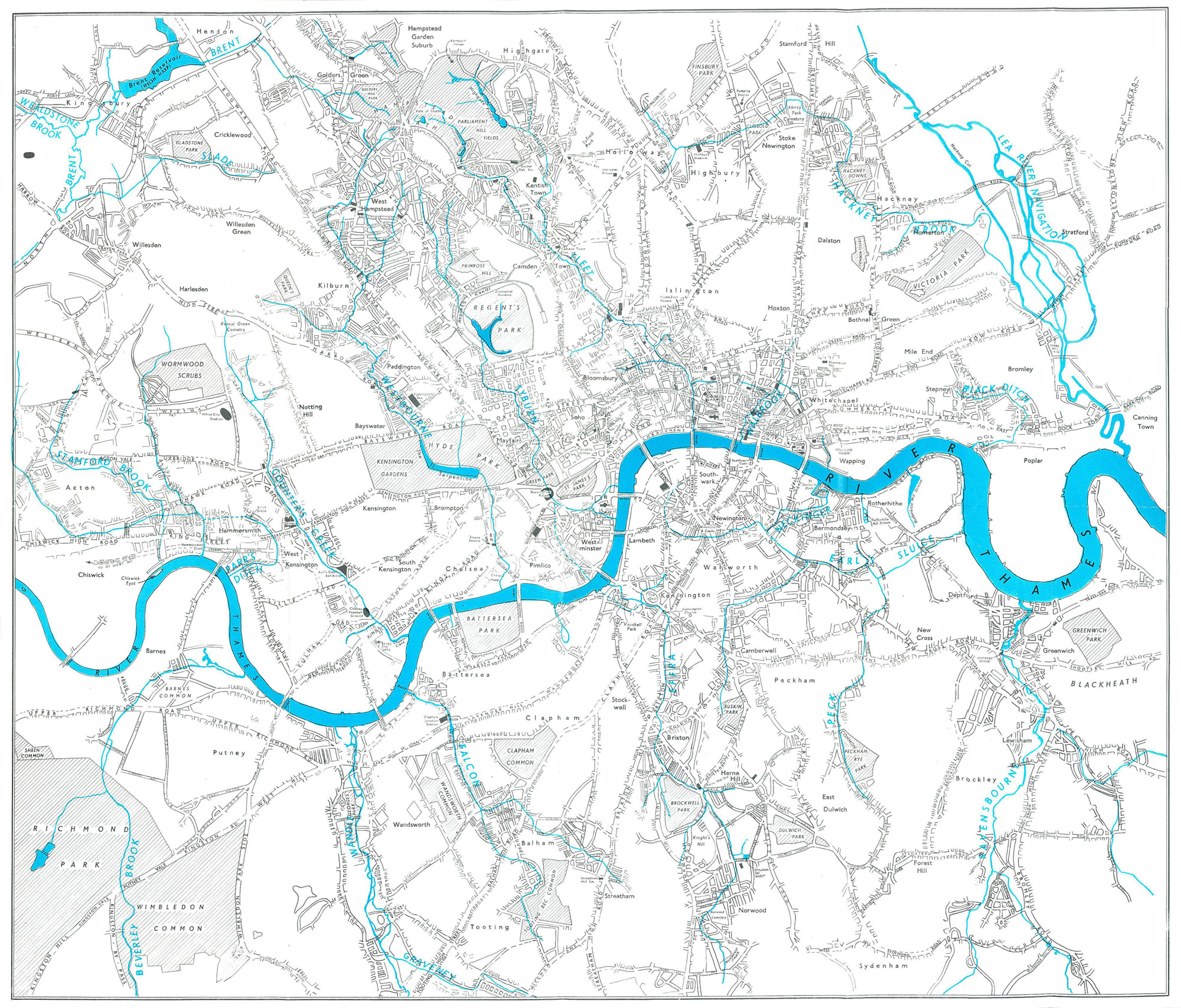 Solnits Subway Map Video.Maps Page 4 Hidden Hydrology