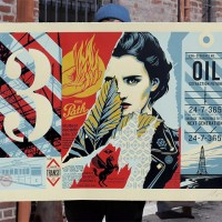 """Wrong Path"" Large Format print by Shepard fairey"