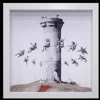 """Box Set"" print by Banksy"