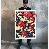 """""""Moscow Metro Mario"""" new print by Evgeny Ches"""