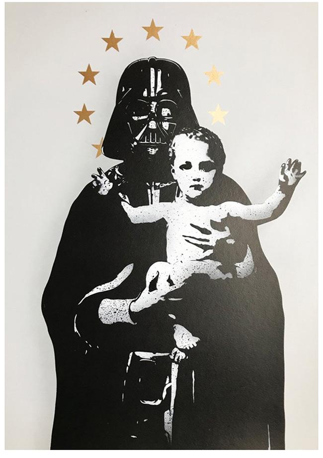""""""" My Vader"""" new print by Fake"""