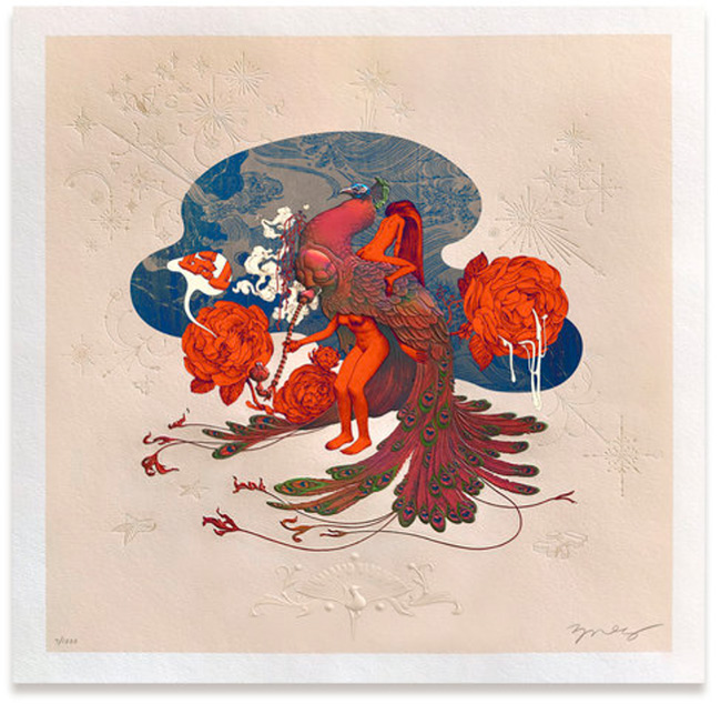 """""""Max Pipe"""" print by James Jean"""