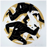 """Out of Darkness"" print by Cleon Peterson"