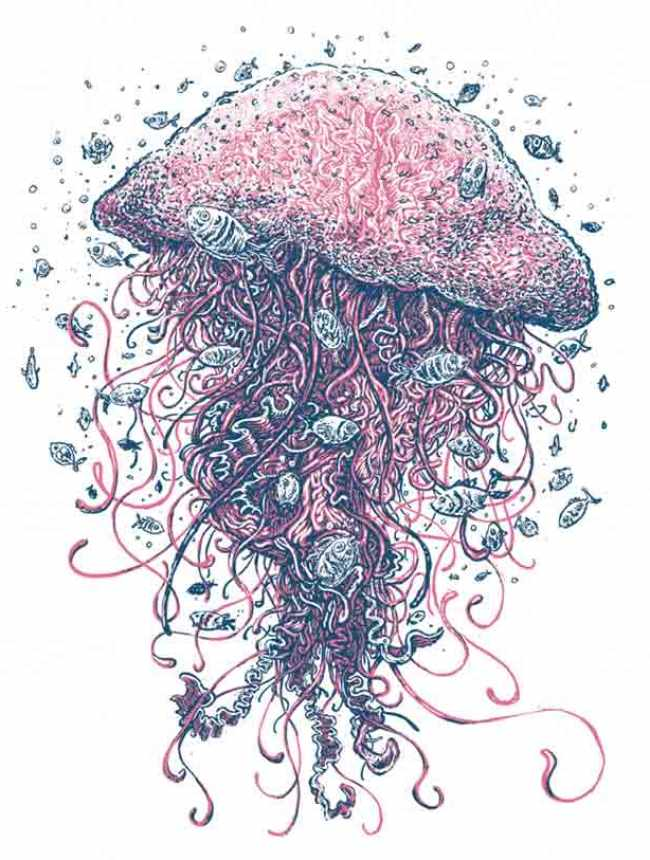 """Jellyfish"" by Geordan Moore"