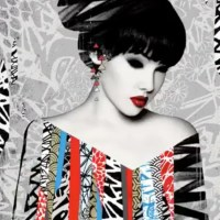 """POISE"" new print by Hush"