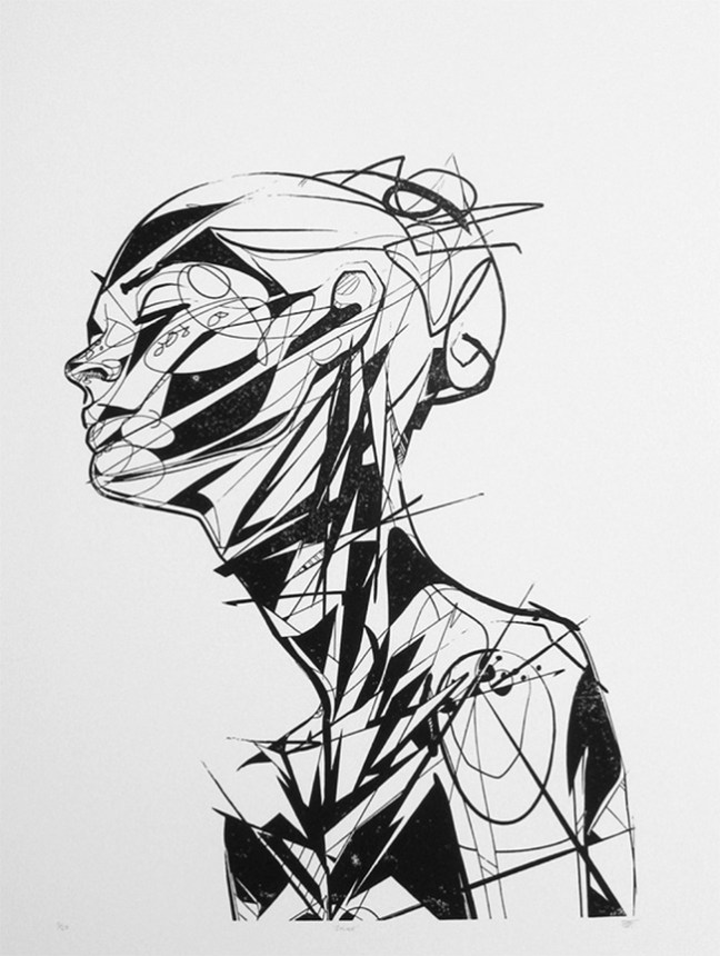 Solace (Block Print)