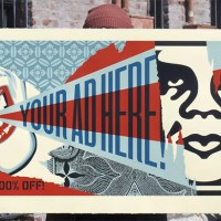 """Your Ad Here Billboard"" new print by Shepard Fairey"