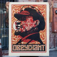 """LENIN STAMP "" new print by Shepard Fairey"