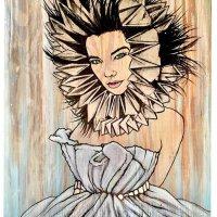 """""""Björk"""" print  by Cat Hothan"""
