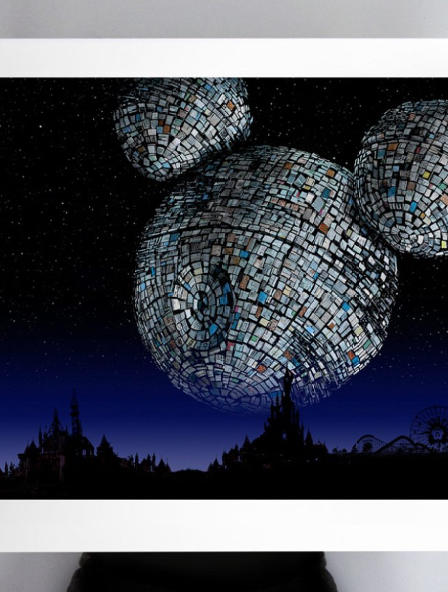 Mickey death star