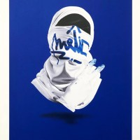"""Shirt Mask VII"" new print from Nuno Viegas"