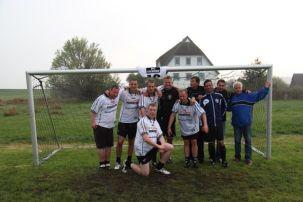 Die Vorjahressieger und dieses Jahr leider nur Zweiten: FC Tresen aus Stralsund.