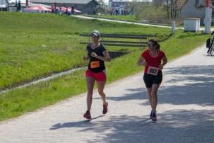 Läufer beim 22. Hiddenseelauf 2018.