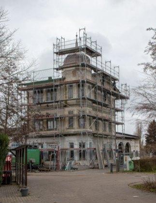 Das Hotels Zur Ostsee in Vitte im Januar 2021