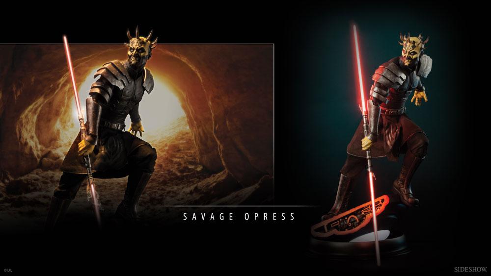Figure Clone Savage Star Wars Wars Opress