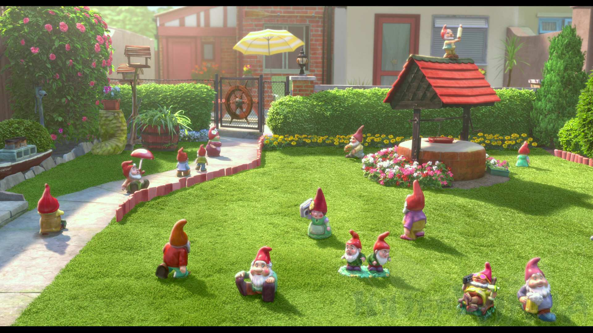 Gnomeo Amp Juliet Blu Ray 3d Review Hi Def Ninja