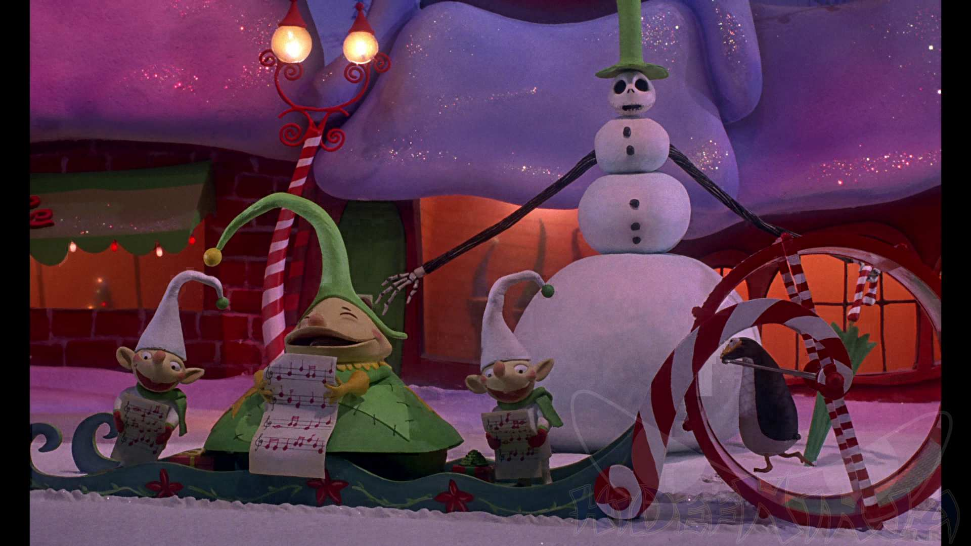 The Nightmare Before Christmas 3D Blu Ray Review Hi Def