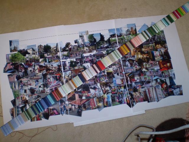 今日の作品制作日記-60cm&上海からフェリーで大量の荷物を運ぶ  Hidemi Shimura