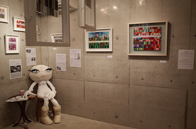 Silent Invaders in Yokohama -Public Viewing of Striped Alien's Room- Exhibition Photos  Hidemi Shimura