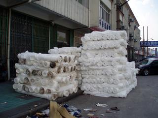 シルク市場 中国東方絲紬市場 Eastern Silk Market China 蘇州, アーティストインレジデンス Hidemi Shimura