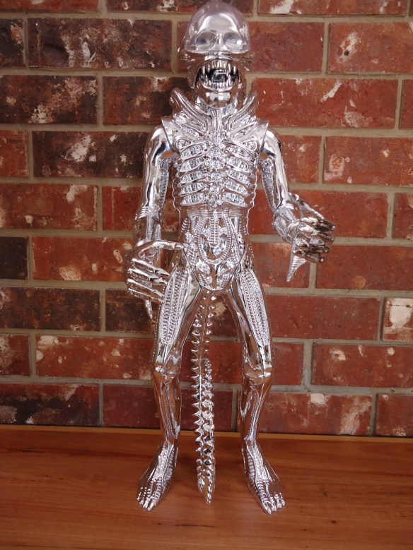 24 Inch Tall 2015 Gentle Giant Silver ALIEN